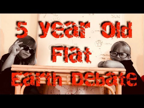 5 Year Olds Debate Flat Earth! thumbnail