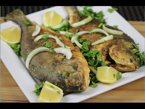 Fried Marinated Sea Bream Fish - Episode 43 - Amina Is Cooking