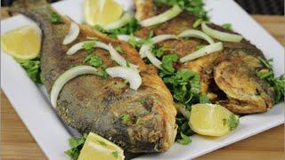 Fried Marinated Sea Bream fish
