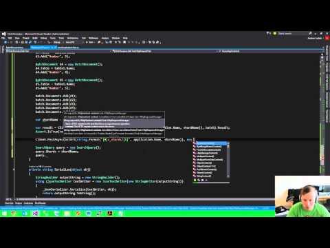 C# Application Development - .NET SDK for Java REST Service