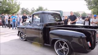 houston coffee and cars 4 18 15 cool 57 chevy truck