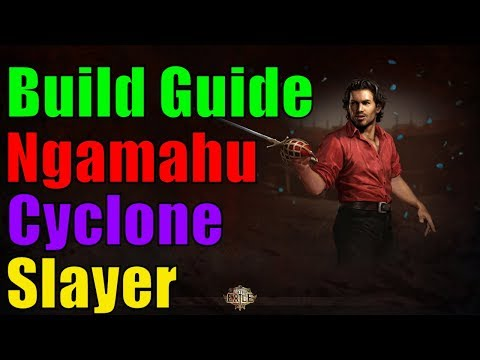 [3.3] Ngamahu Slayer Cyclone - Build Guide - Günstig, MF Maps, Bosse - Path Of Exile Abyss German