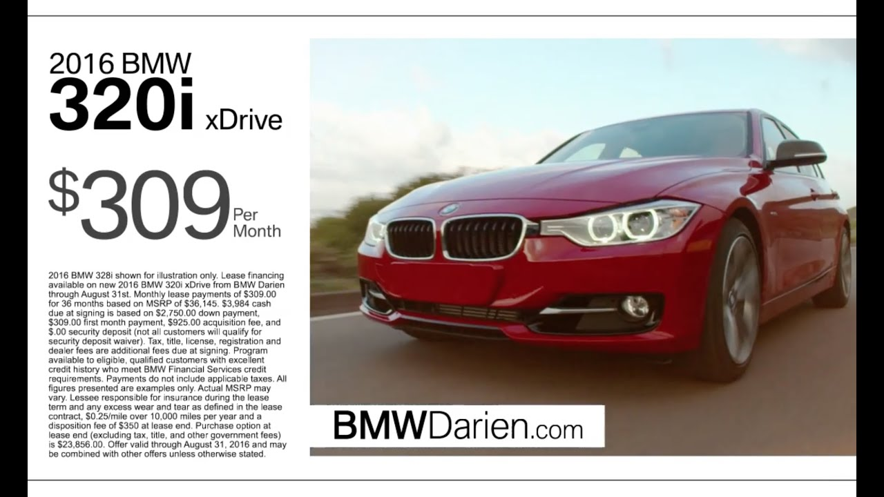 bmw lease deals bmw of darien august 2016 youtube. Black Bedroom Furniture Sets. Home Design Ideas