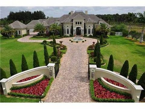 THE ROCK (DWAYNE JOHNSON) HOUSE  - SUCH A CLASSIC INTERIOR DESIGN LOVER