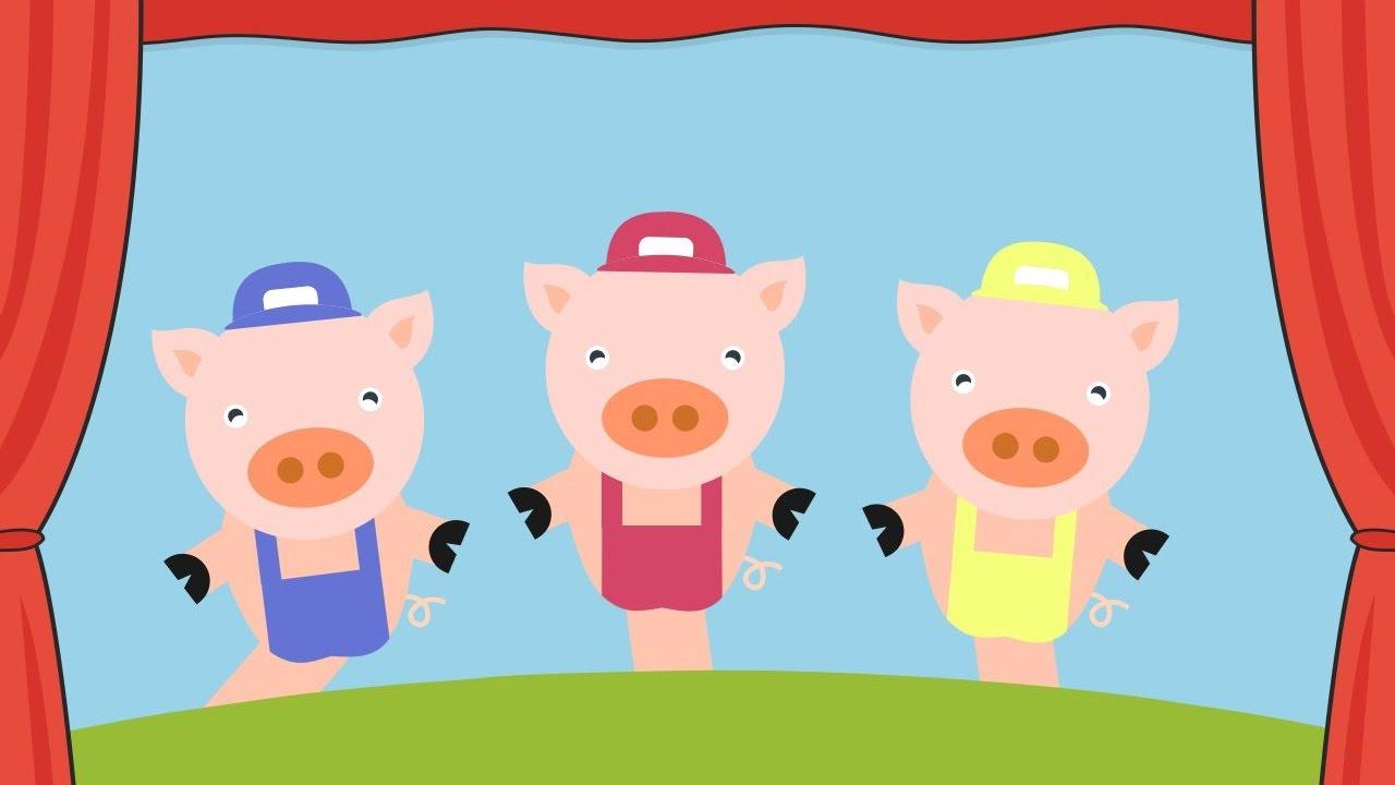 Teatro De Fantoche Os 3 Porquinhos Youtube