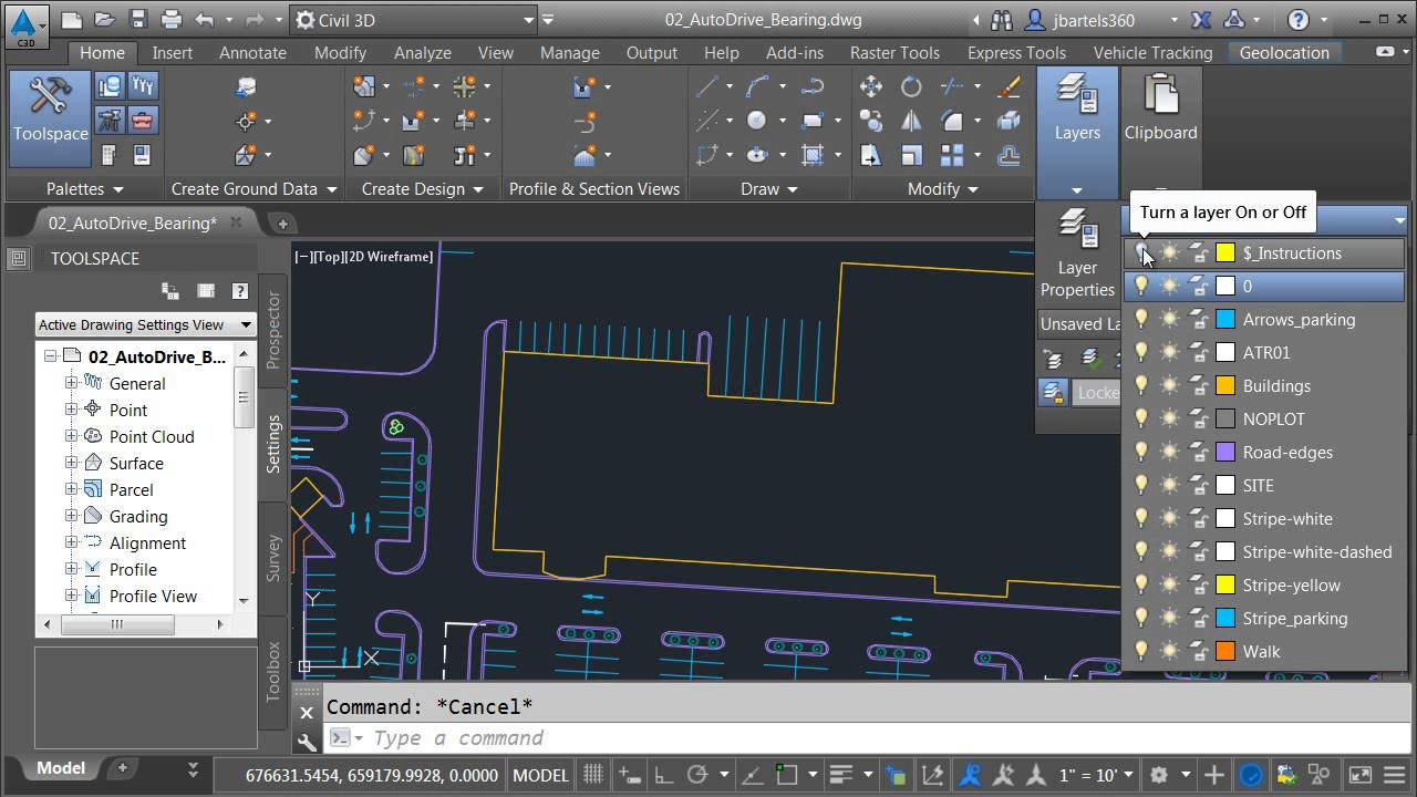 how to add cars in autocad