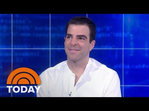 Zachary Quinto Talks Hosting 'In Search Of' Reboot  TODAY