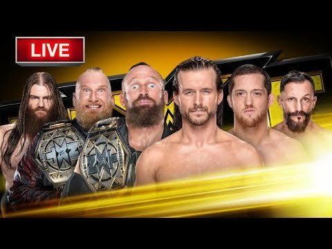 WWE NXT 18 OCTOBER 2017 LIVE STREAM LIVE REACTIONS WATCH PARTY