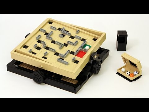 LEGO Marble Maze Game (Labyrinth)