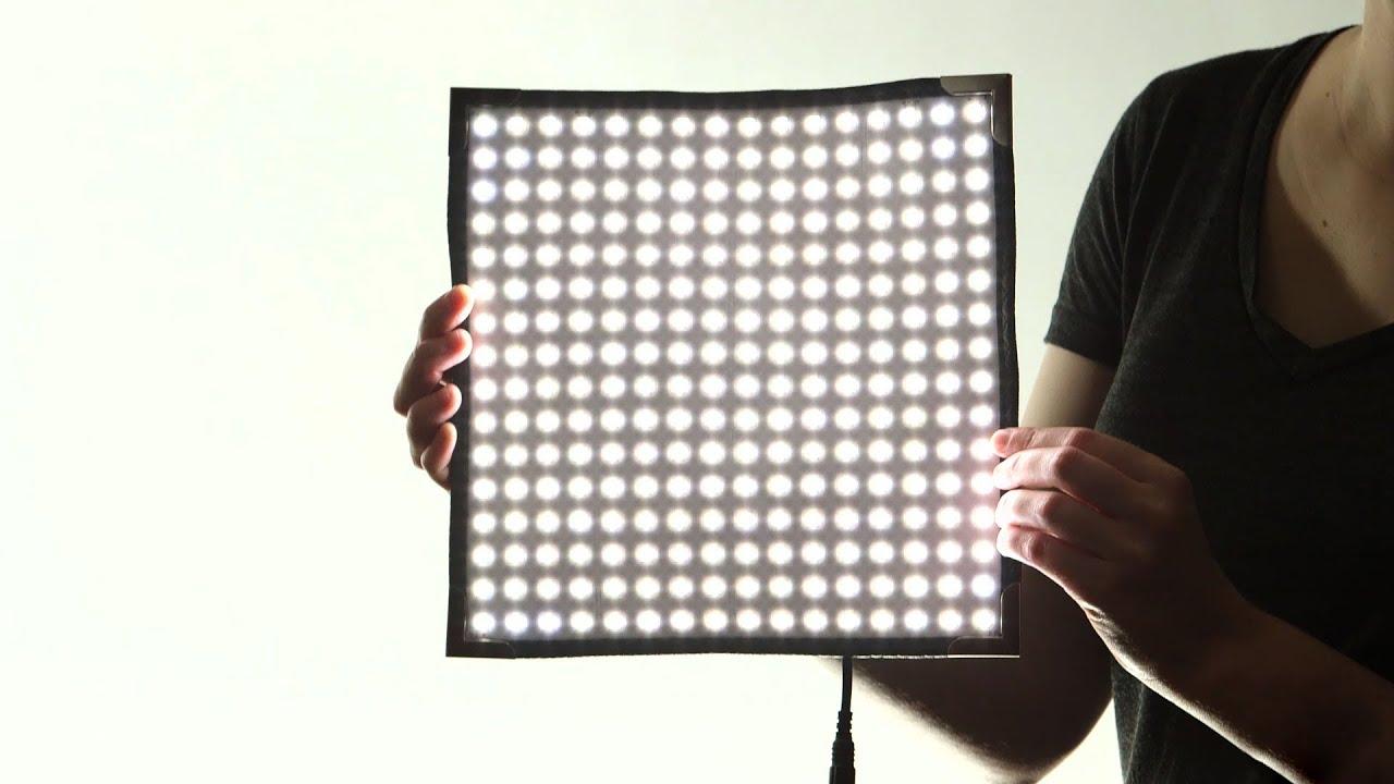 Quick Look: Westcott | Flex LED Light Panel - YouTube