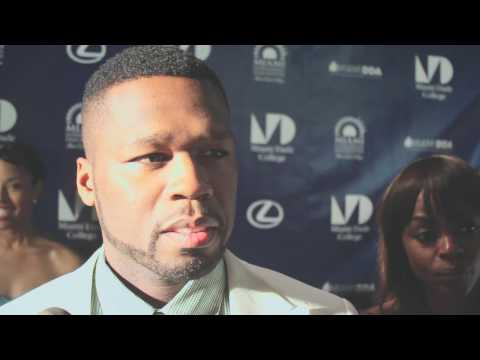 50 Cent interview at the world premiere of