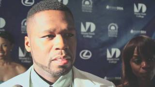 50 Cent interview at the world premiere of All Things Fall Apart