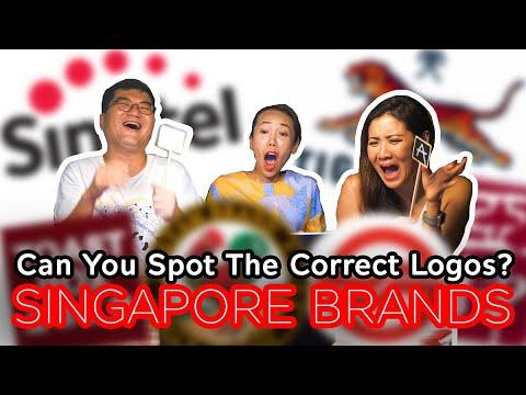 Spot The Correct Logo - Singapore Brands