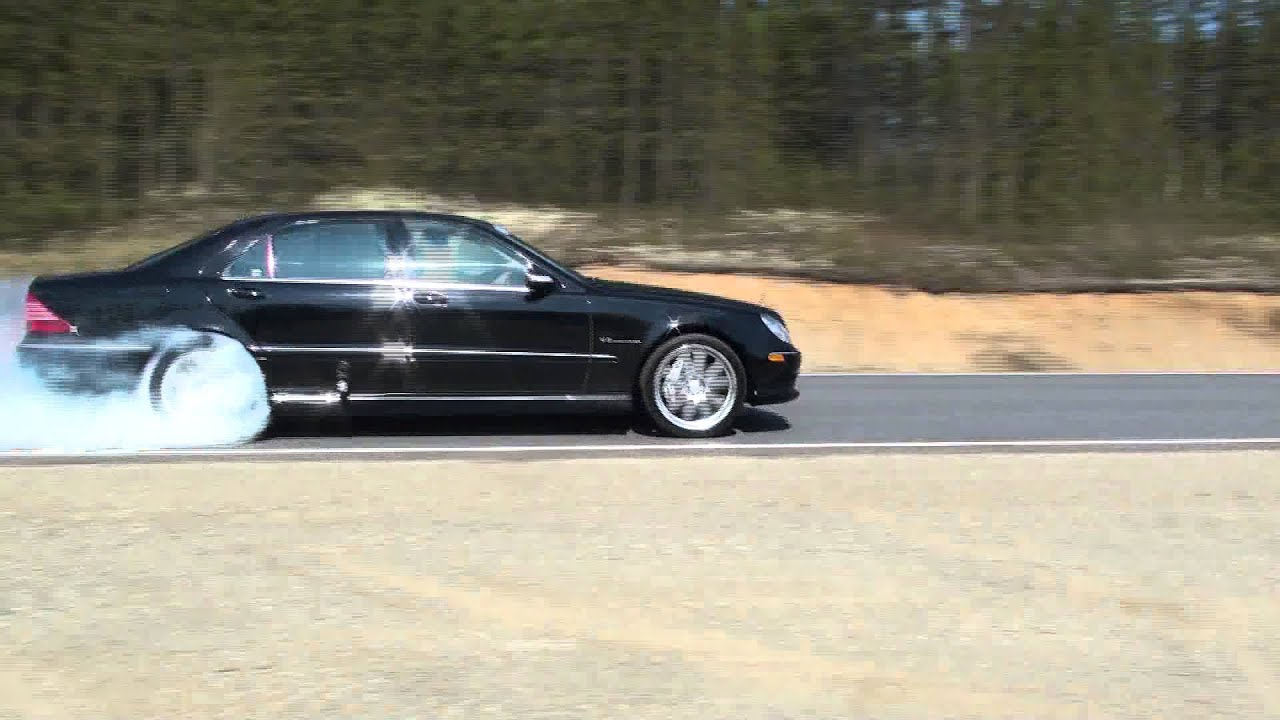 2003 mercedes s55 amg burnout fermont by richard fortin youtube sciox Image collections