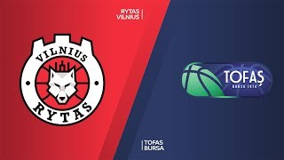 Rytas Vilnius - Tofas Bursa Highlights | 7DAYS EuroCup, RS Round 9