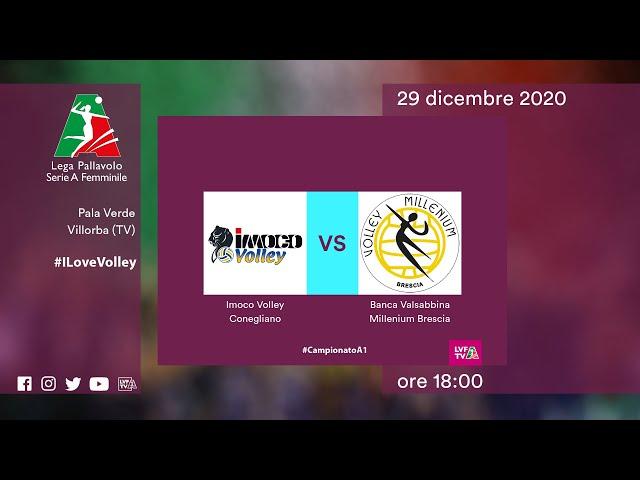 Conegliano - Brescia | Speciale | 17^Giornata Campionato | Lega Volley Femminile 2020/21