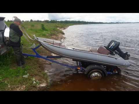 Время спуска лодки на воду