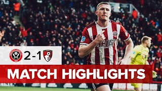 Sheffield United 2-1 AFC Bournemouth | Premier League highlights
