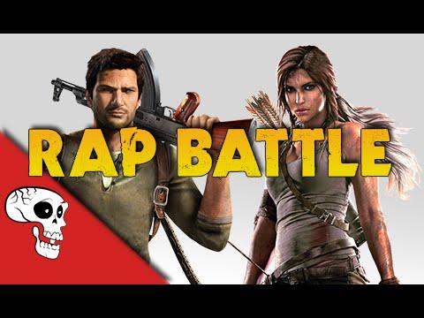 Lara Croft Vs Nathan Drake Rap Battle By Jt Music & Andrea