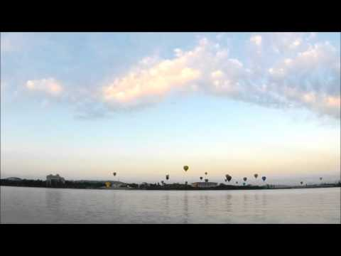 Timelapse of the Canberra Balloon Spectacular 2016