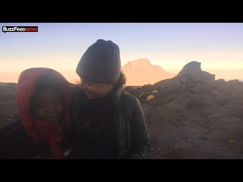 Women Climb Mount Kilimanjaro