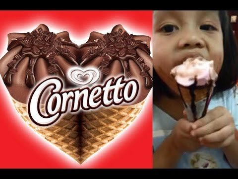 Cornetto Strawberry Ice Cream Cone WALLS Thailand ...