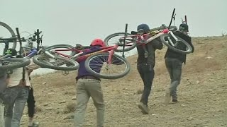 Afghanistan's first freestyle cycling club 'Drop and Ride' is helping young people