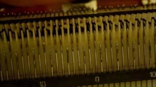 Вязание резинки 2*2 ( ластик) на вязальной машине Нева 5 ( Ладога 4)