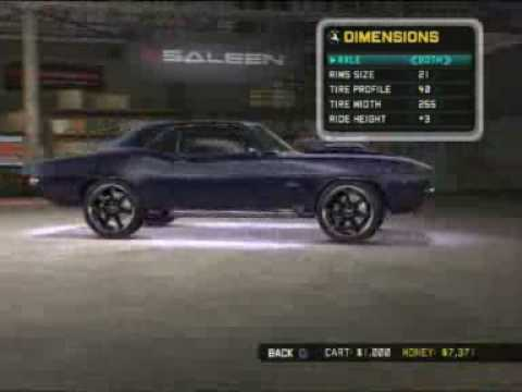 Can You Customize Your Car In Need For Speed Undercover