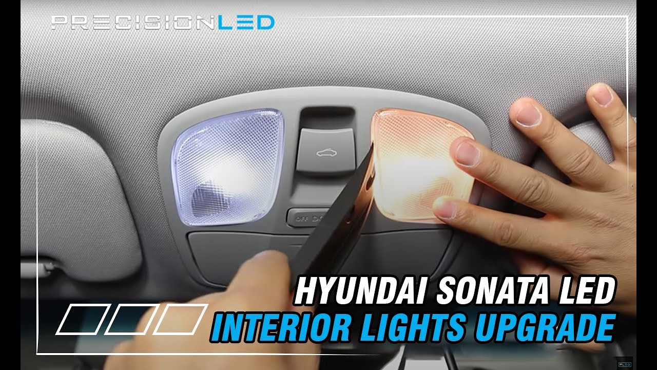 Hyundai Sonata With Sunroof Led Interior Lights How To Install 6th Gen 2017 You