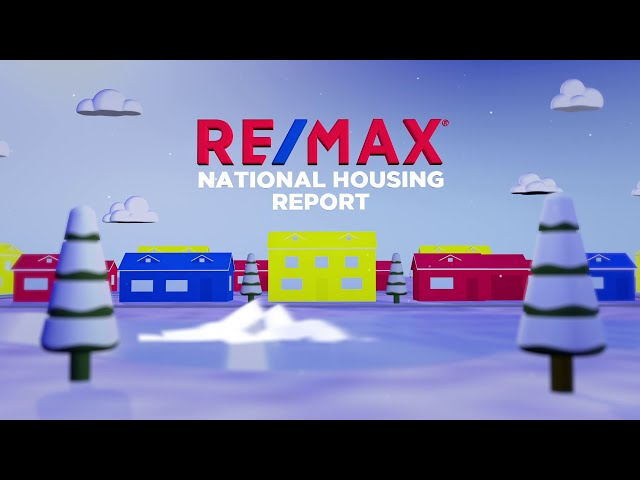 RE/MAX National Housing Report December 2020