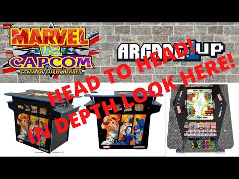Arcade1up   Marvel vs Capcom Head to Head Cabinet in Depth Look from PsykoGamer