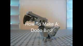 how to make a dodo bird