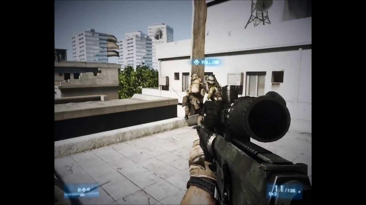 battlefield 3 ultra amd athlon 64 x2 4000 2 1ghz youtube