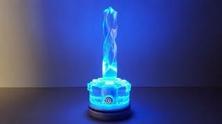 Светильник - сверлильник  из эпоксидной смолы / Epoxy L.E.D. Lamp / Arduino WS2812
