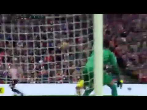 Ath Bilbao 2 - 1  Atl. Madrid Goal (Oscar de Marcos) 21-01-2017
