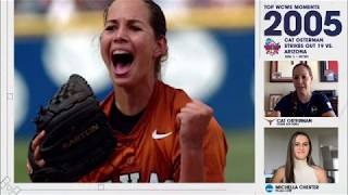 Cat Osterman breaks down her 19-strikeout game in 2005 WCWS