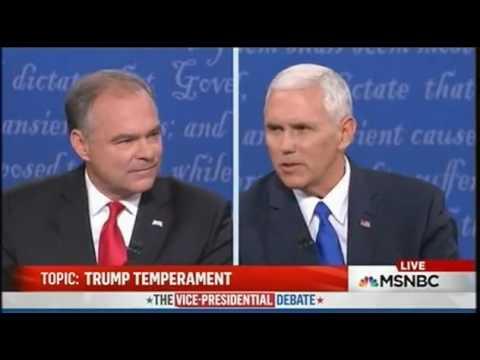 Vice Presidential debate 2016