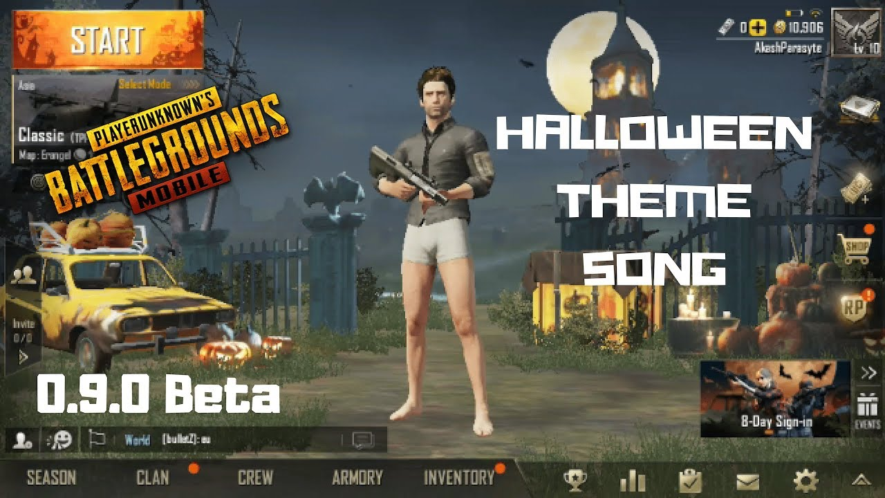 pubg mobile halloween theme song! - youtube