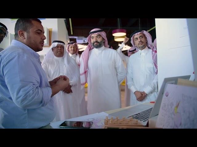 زيارة معالي وزير الاتصالات وتقنية المعلومات المهندس عبدالله السواحة لشركة وادي مكة للتقنية