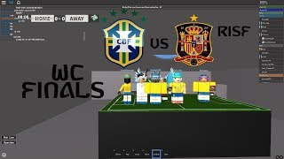 Brazil VS Spain CONFEDERATIONS CUP RISF ROBLOX