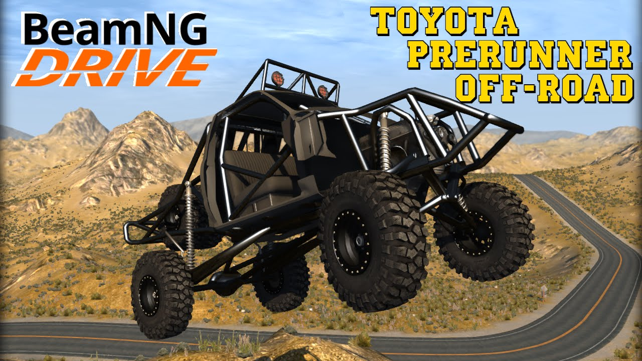 BeamNG DRIVE mod Toyota PreRunner Off Road