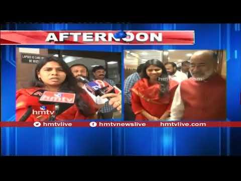 Minister Akhila Priya Meets Union Tourism Minister KJ Alphons | hmtv