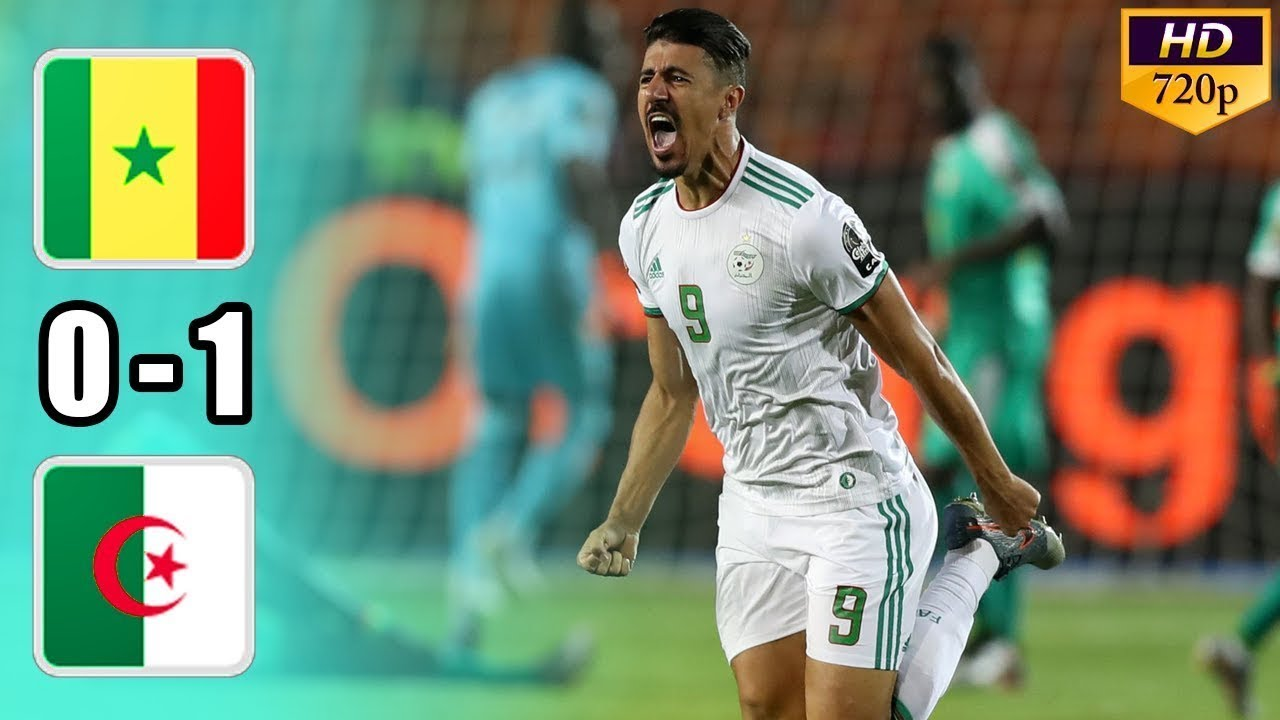 Algeria to Wins Trophy CAN Cup - Senegal vs Algeria 0 - 1 Highligths & Goals CAN Cup Final 2019