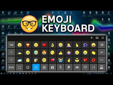 How to add emojis on a keyboard
