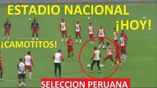 FUTBOL PERU DEPORTES ¡ENTRENAMIENTO DE SELECCION PERUANA EN ESTADIO NACIONAL!
