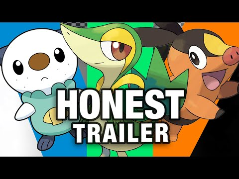 POKEMON BLACK & WHITE (Honest Game Trailers)
