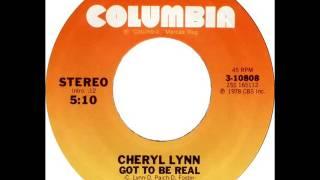Cheryl Lynn - Got To Be Real (Dj