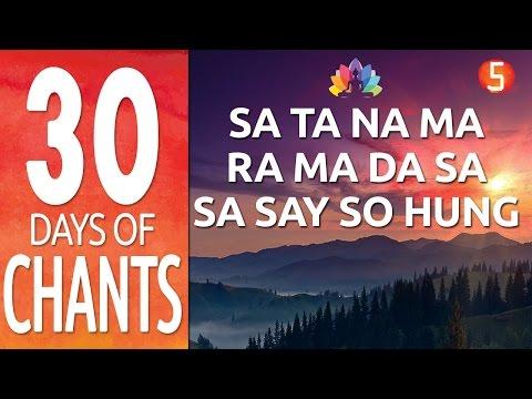 Day 5 - SA TA NA MA + RA MA DA SA  - Kundalini Yoga Meditation Mantra