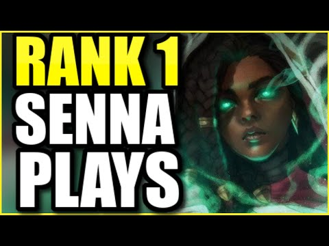 (BEST GAME EVER) THE RANK 1 SENNA SHOWS YOU HOW TO CARRY *ANY* GAME AS SENNA SUPPORT!